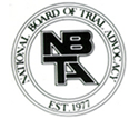 NBTA | National Board of Trial Advocacy | Est. 1977